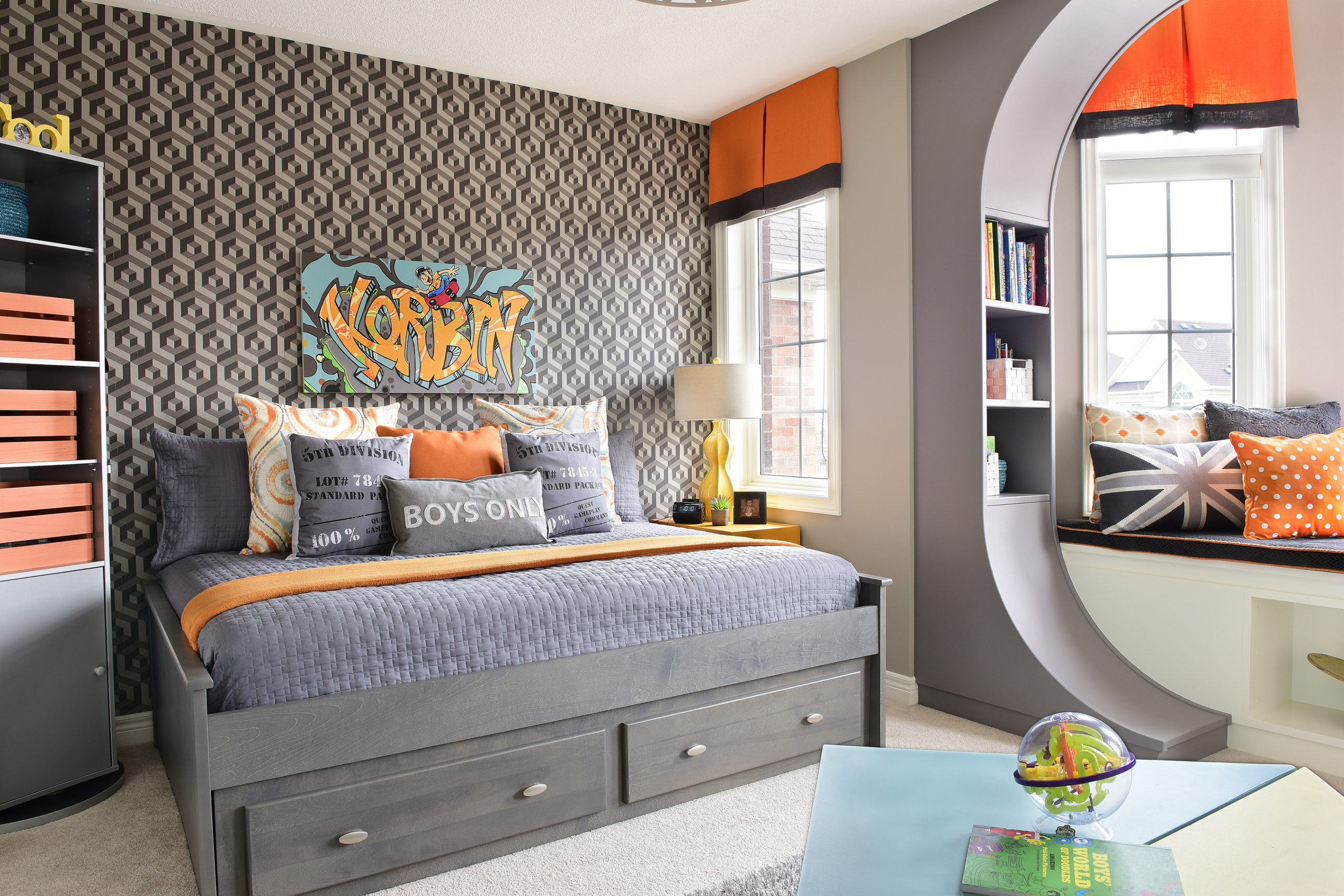 Korbin's Skater Boy Bedroom -1
